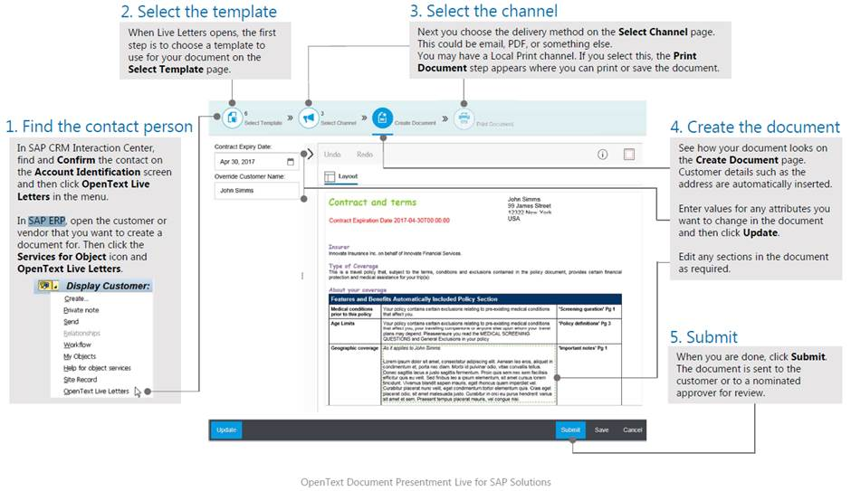 XSR SAP Document Presentment Live – NewDev